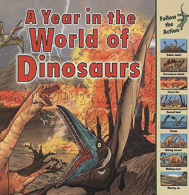 A Year in the World of Dinosaurs By Havercroft, Elizabeth